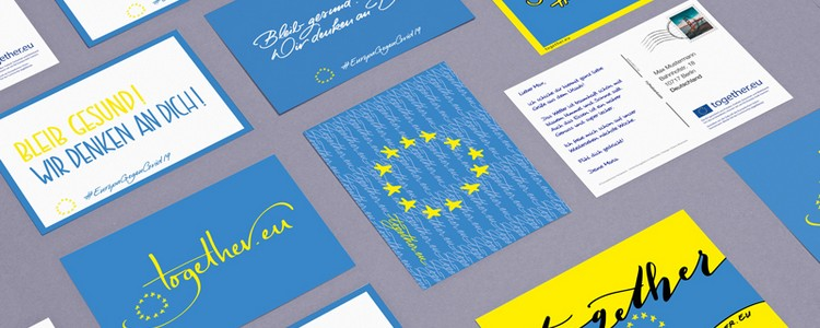 EU Postkarte