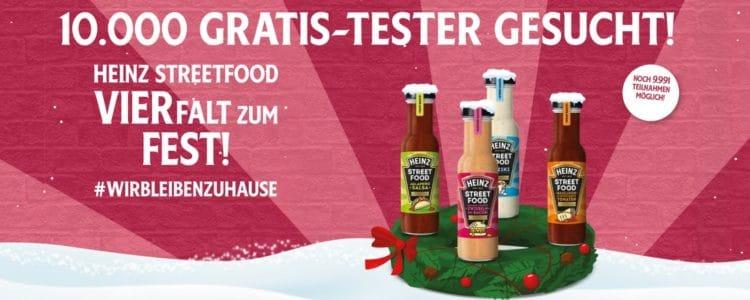 Heinz Saucen gratis testen