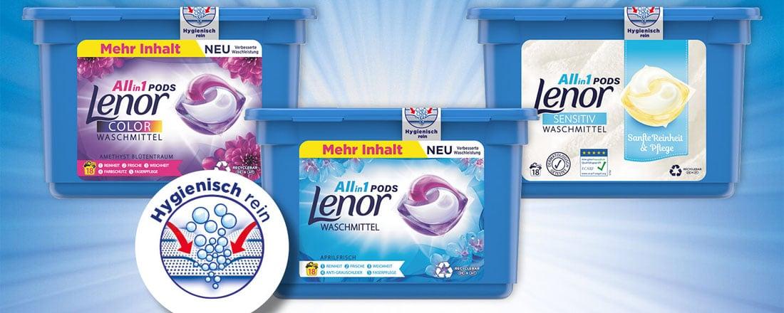 Lenor All-in-1-Pods
