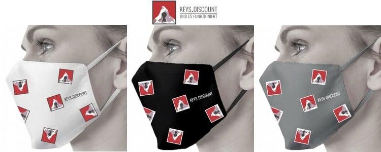 Mund-Nasenmasken von Keys.Discount