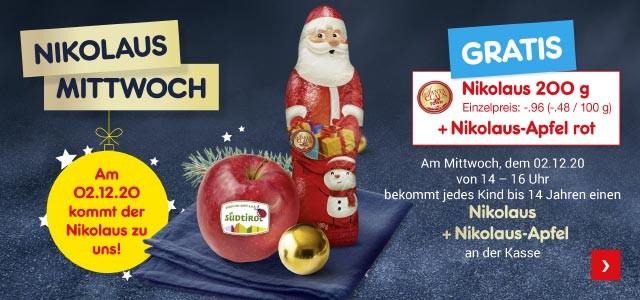 Nikolaus-Mittwoch bei Netto