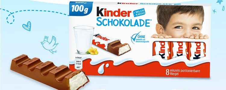 Kinderschokolade Test