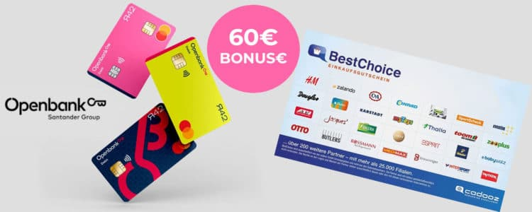 60€ Openbank Bonus-Deal