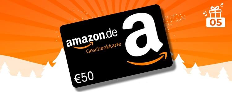 Amazon.de-Gutschein gewinnen