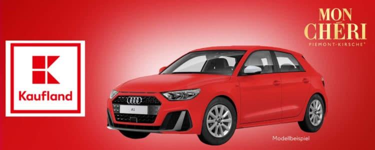 Audi A1 bei Kaufland gewinnen