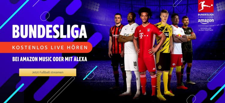 Amazon Bundesliga hören