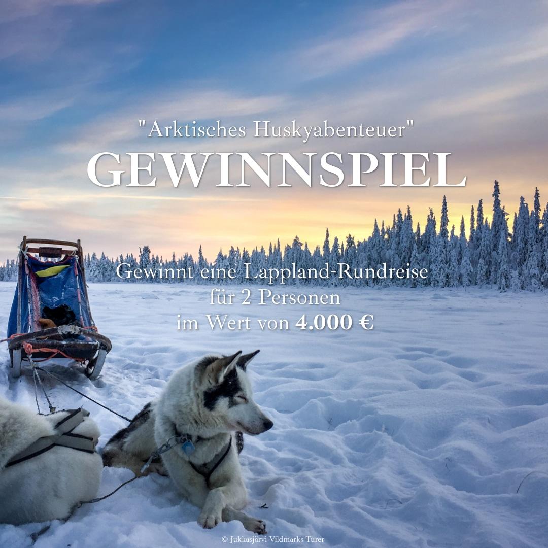 Lappland-Reise gewinnen
