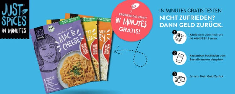 Just Spices gratis testen