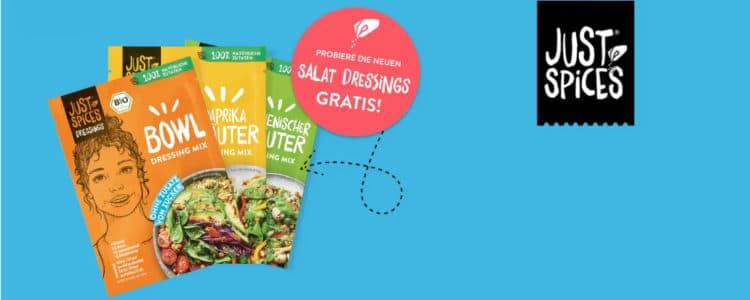Salatdressings von Just Spices testen