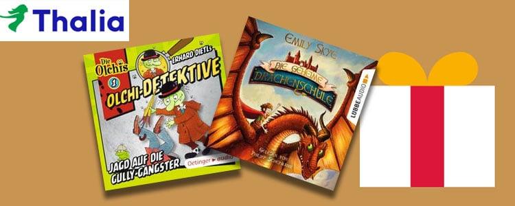 Thalia zwei Hörbücher gratis