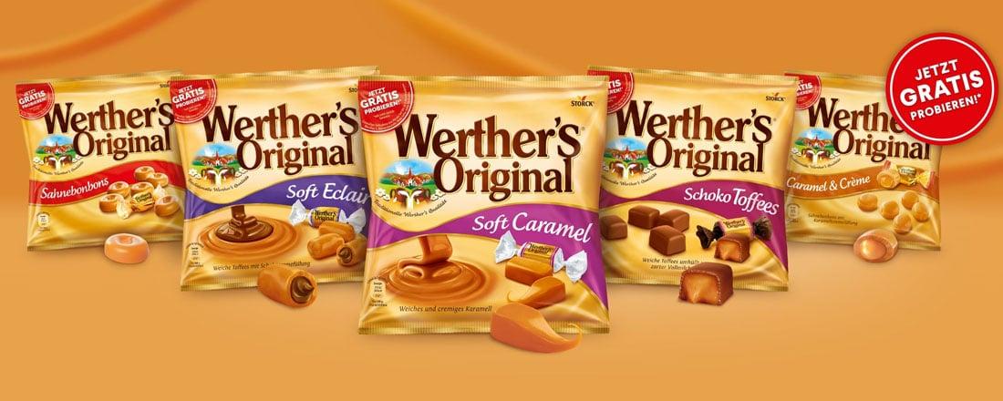 Werther's Original gratis testen