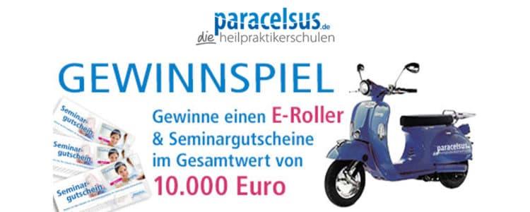 Paracelsus Gewinnspiel E-Roller gewinnen