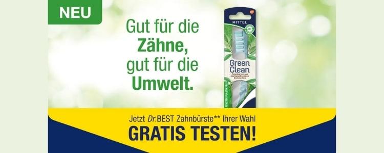 Dr.BEST Zahnbürste gratis testen