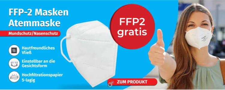 Gratis FFP2-Maske