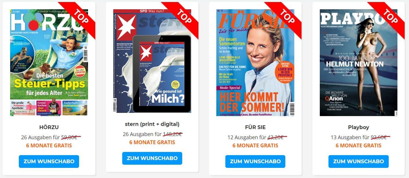 Halbjahresabos bei Kostenlos.de
