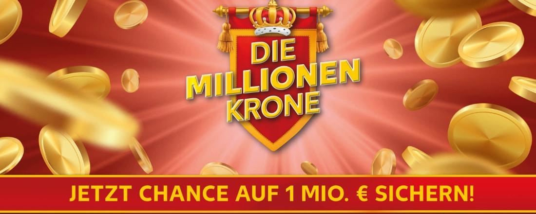 Millionen-Krone von Kaufland