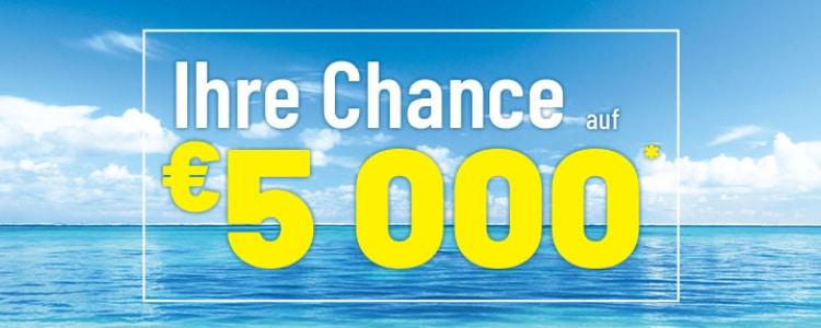 5.000€ gewinnen