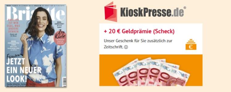 20€ Prämie für Brigitte-Abo