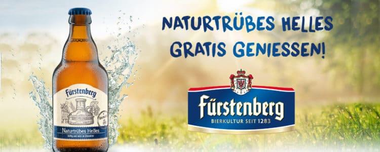 Fürstenberg Naturtrüb gratis testen