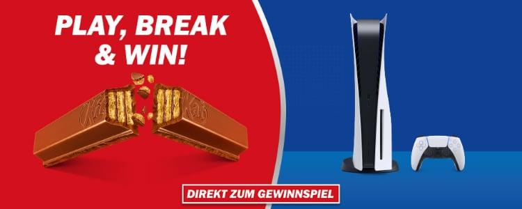 KitKat PS5-Gewinnspiel