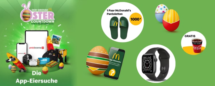 McDonald's Eiersuche