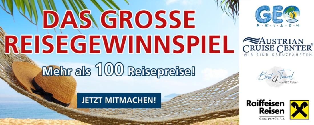 GEO Reisen-Gewinnspiel