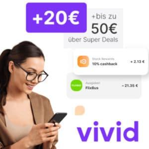 Vivid 20€ Bonus
