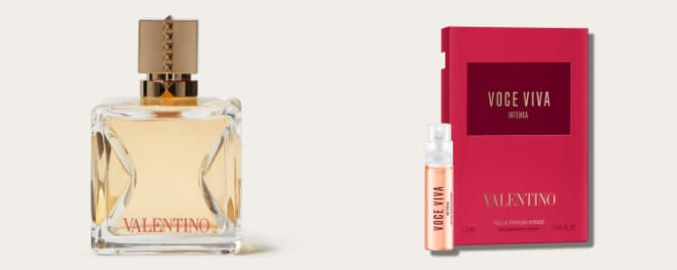 Valentino Parfümprobe