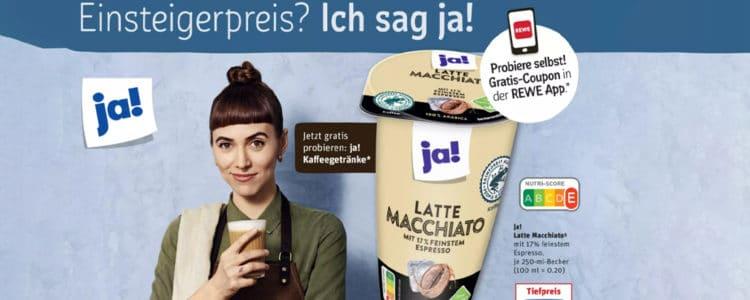 ja!-Kaffee gratis
