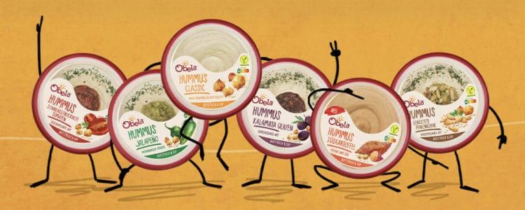 Obela Hummus gratis