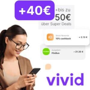 40€ Bonus bei Vivid