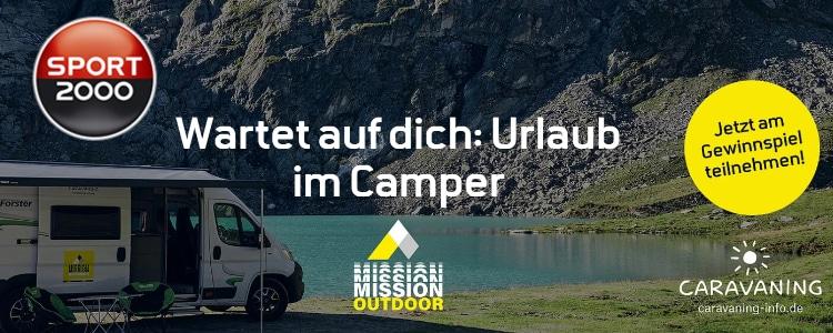 Camping-Urlaub gewinnen