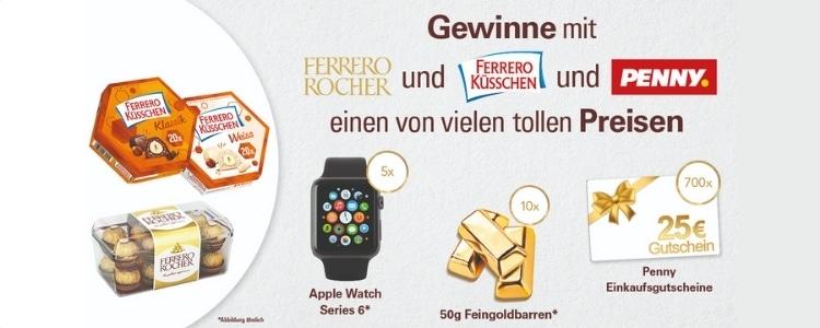Ferrero Gewinnspiel