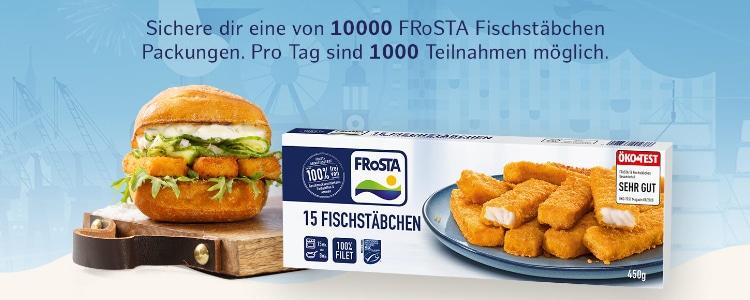 Frosta Fischstäbchen gratis testen