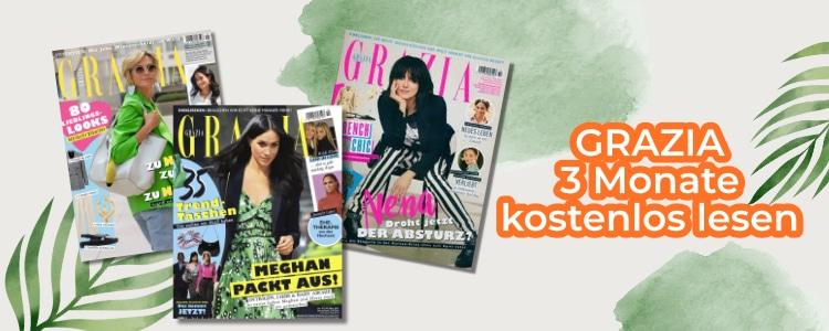 Grazia 3 Monate gratis lesen