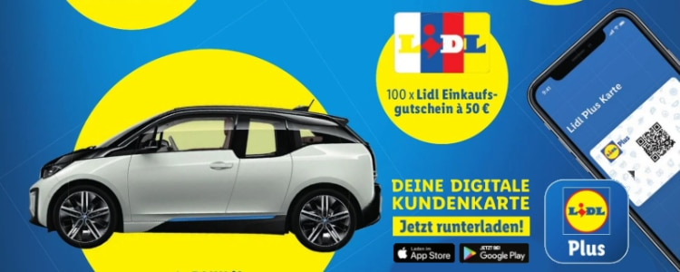 Lidl Plus-App Gewinnspiel