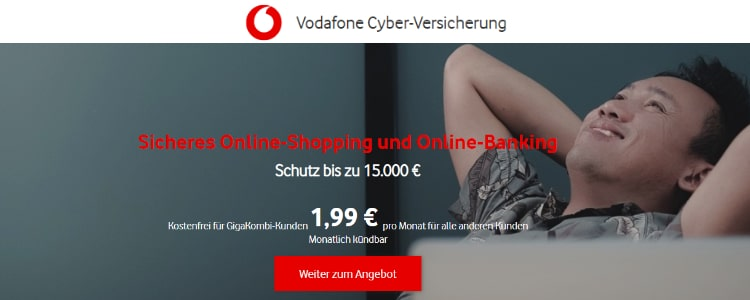 Vodafone Cyberversicherung