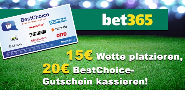 Bet365 Bonus-Deal