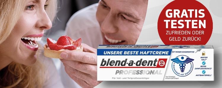blend-a-dent Haftcreme gratis testen