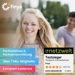 Finya kostenlose Partnersuche