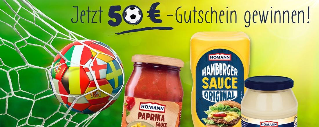 Homann 50€ Intersport Gutschein gewinnen