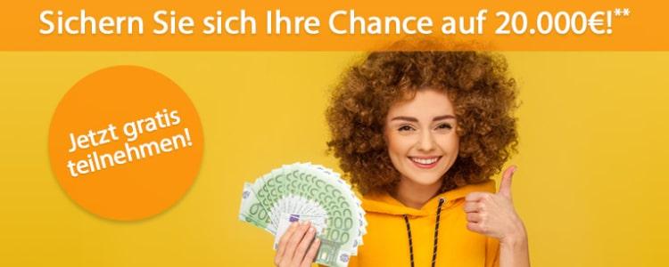 20.000€ bei BurdaDirect gewinnen