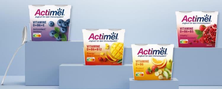 Actimel Joghurt gratis testen