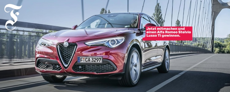 FAZ-Gewinnspiel: Alfa Romeo gewinnen