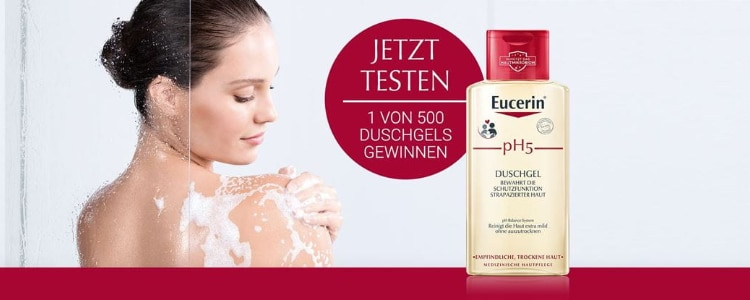 Eucerin Duschgel testen