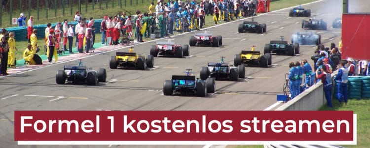 Formel 1 kostenlos streamen