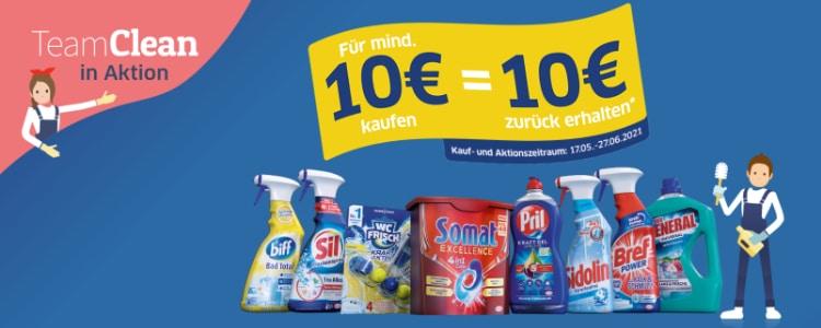 Henkel-Produkte für 10€ kaufen, 10€ erstattet bekommen