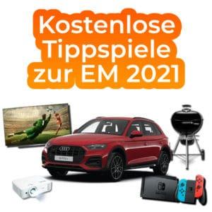 Kostenlose Tippspiele zur EM 2021