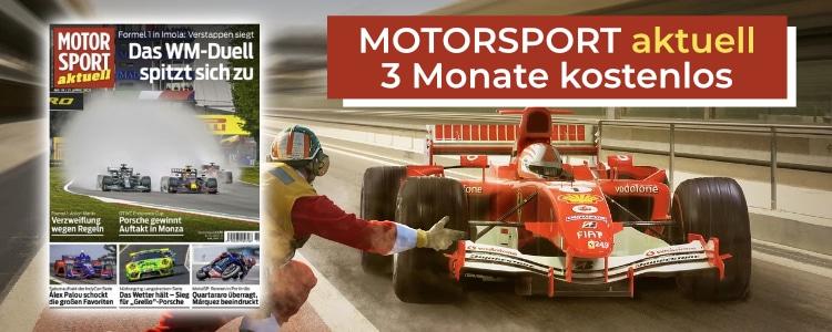 MOTORSPORT aktuell 3 Monate gratis