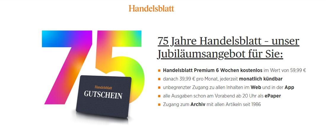 Handelsblatt Gratis